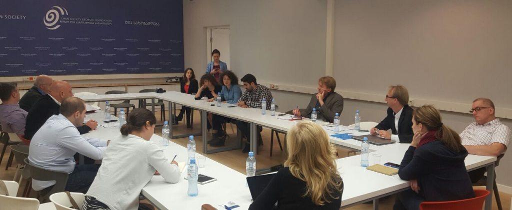 Rondetafelgesprek Georgian Institute of Politics / Open Society